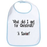 Christmas Savior Bib