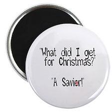Christmas Savior Magnet
