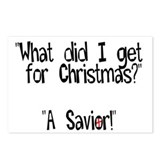 Christmas Savior Postcards (Package of 8)