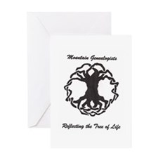 Mountain Genealogists Greeting Card