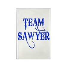 TEAM SAWYER from LOST TV Rectangle Magnet (100 pac