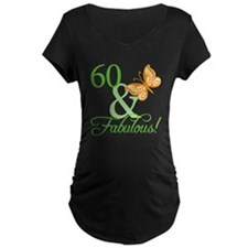 60 & Fabulous Birthday T-Shirt