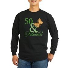 50 & Fabulous Birthday T