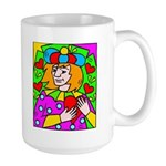 Jack of Hearts 1 Large Mug