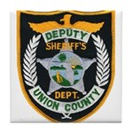 Union County Sheriff Tile Coaster