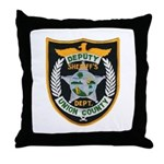 Union County Sheriff Throw Pillow