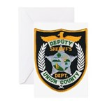 Union County Sheriff Greeting Cards (Pk of 20)
