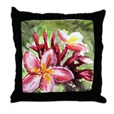 Unique Floral Throw Pillow