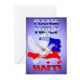 Please Help Haiti Greeting Cards (Pk of 10)