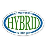 Hybrid Sticker for your Car