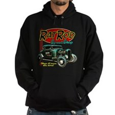 Rat Rod Speed Shop - neon Hoodie