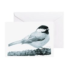 Chickadee Greeting Card