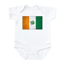 Irish Shamrock Flag Infant Bodysuit