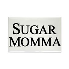 Sugar Momma Rectangle Magnet