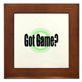 Got Game?  (2) Framed Tile