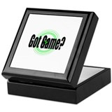 Got Game? (2) Keepsake Box