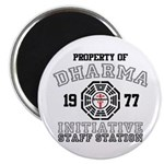 Property of Dharma - Staff Magnet