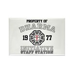 Property of Dharma - Staff Rectangle Magnet (10 pack)