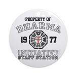 Property of Dharma - Staff Round Ornament (Round)