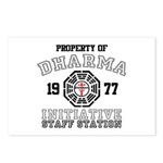 Property of Dharma - Staff Postcards (Package of 8)