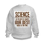 Science at Its Best Kids Sweatshirt
