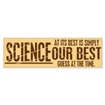 Science at Its Best Sticker (Bumper 10 pk)