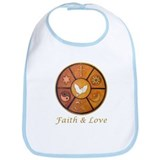 "Interfaith ""Faith & Love"" Bib"