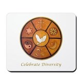 """Celebrate Diversity"" Mousepad"