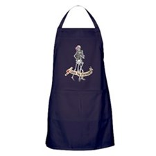 Love Skeletons Apron (dark)