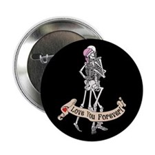 "Love Skeletons 2.25"" Button"
