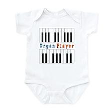 Organ Player Jam Shirt Infant Bodysuit