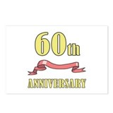 60th Wedding Anniversary Postcards (Package of 8)