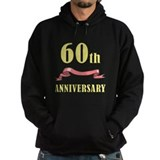 60th Wedding Anniversary Hoodie