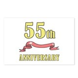 55th Wedding Anniversary Postcards (Package of 8)