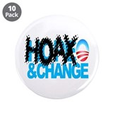 Extreme Anti Obama Button 3.5&amp;quot; (10 pack)