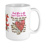 Old Fashioned Love 1 Large Mug
