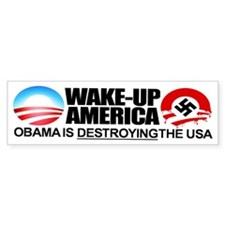 Extreme Anti Obama Bumper Sticker (single)