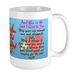 Old Fashioned Love 2 Large Mug