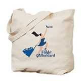 Catching Her Flight FA Tote Bag