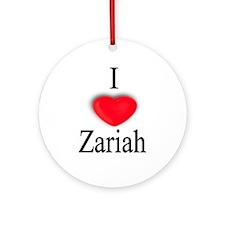 Zariah Ornament (Round)