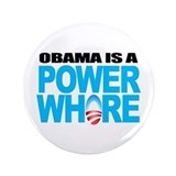 "Extreme Anti Obama Button 3.5"" (single)"