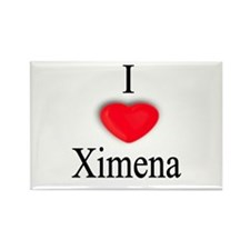 Ximena Rectangle Magnet (100 pack)