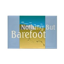 Nothing But Barefoot Rectangle Magnet (10 pack)