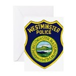 Westminster Massachusetts Pol Greeting Card