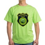 Westminster Massachusetts Pol Green T-Shirt