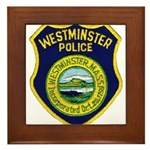 Westminster Massachusetts Pol Framed Tile