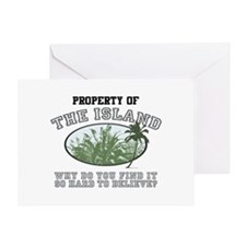 Property of the Island Greeting Card