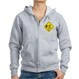 Man Ho Yield Sign Zip Hoodie