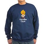 Canadian Chick Sweatshirt (dark)