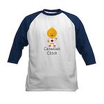 Canadian Chick Kids Baseball Jersey